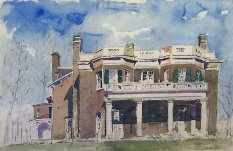 Adam Van Doren, 'Hyde Park from Porch (Franklin D. Roosevelt)', 2015