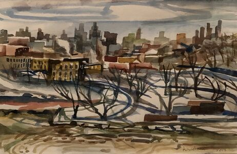 Art Rosenbaum, 'Ice Flows on the Harlem River 1', 2013