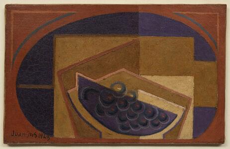 Juan Gris, 'Le raisin noir', 1923