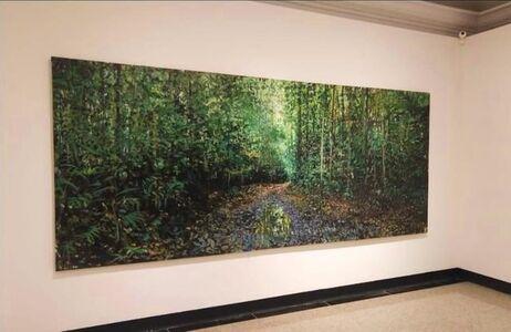 LORENZO MOYA, 'The forest drinks the rain', 2018