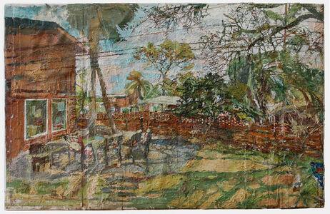 Stanley Lewis, 'Backyard Jeykll Island, GA', 2014