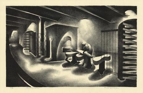 Benton Spruance, 'Bulldog Edition.', 1932