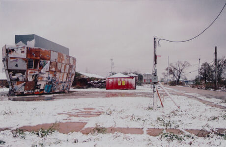 Mark Bradford, 'Ark in the Snow', 2008