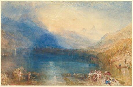 J. M. W. Turner, 'The Lake of Zug', 1843