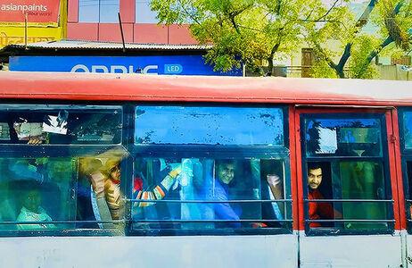 Mary McKenna Ridge, 'The Bus to Delhi', 2020