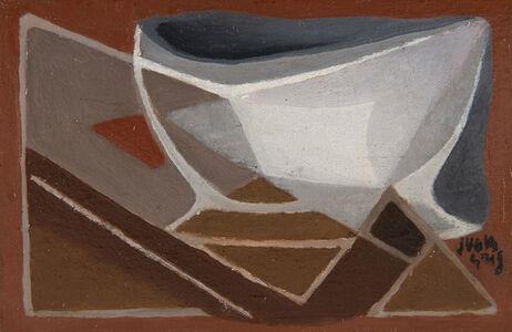 Juan Gris, 'Bol et pipe', 1924