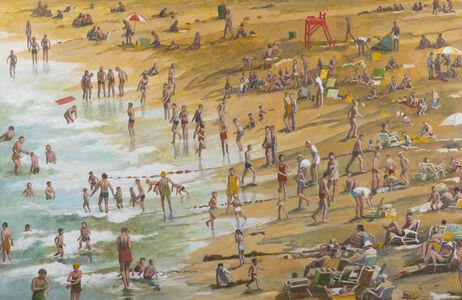 Anne Lyman Powers, 'Keeping Cool (View of Singing Beach)', 1981