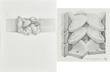 Margot Römer, 'Two works of art: Proyecto Para un Mural Secreto; Escultura para Comprar el Formidable Espectacular de la Vida'