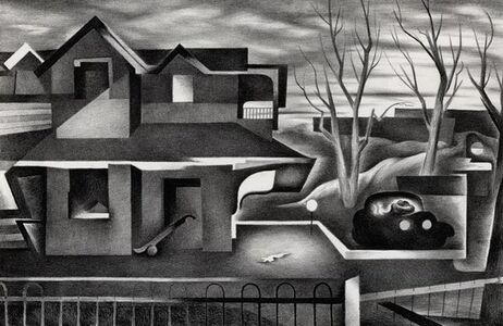 Benton Spruance, 'Homecoming ', 1935