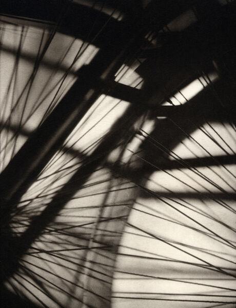 Alvin Langdon Coburn, 'Vortograph (bike wheel)', 1917