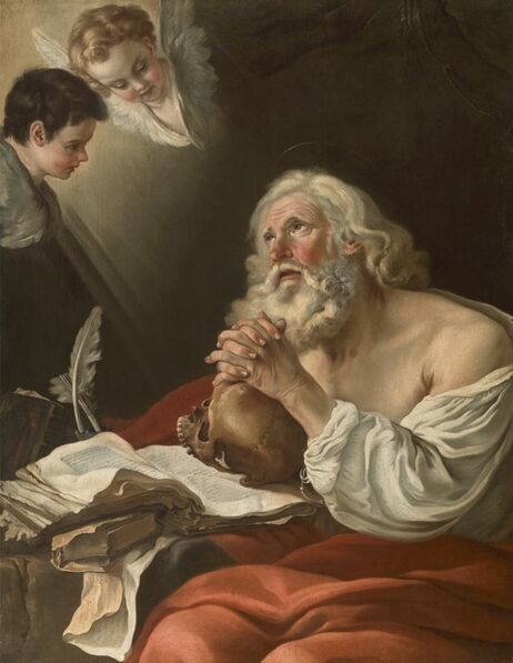 Joseph-Marie Vien, 'St. Jerome in Prayer', 1750-1755