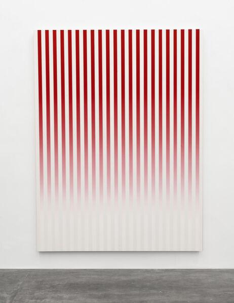 Philippe Decrauzat, 'Slow Motion Red # 1', 2019