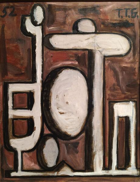 Francisco Matto, 'Formas Blancas', 1952