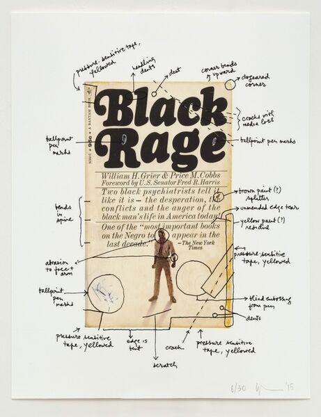 Glenn Ligon, 'Black Rage', 2015