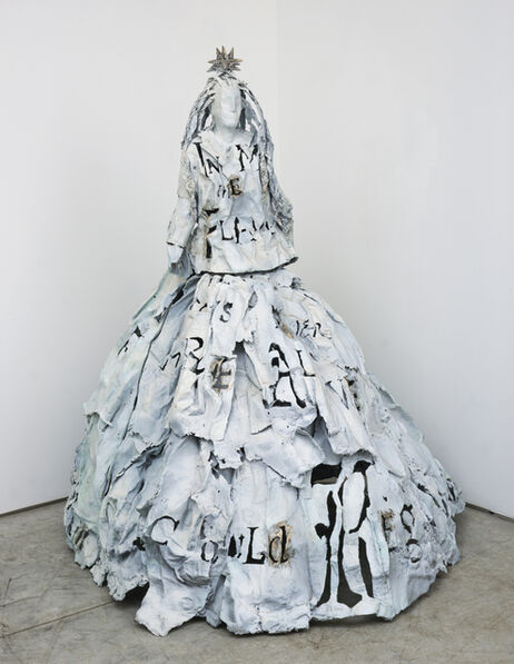 Lesley Dill, 'Woman in Dress With Star', 2011