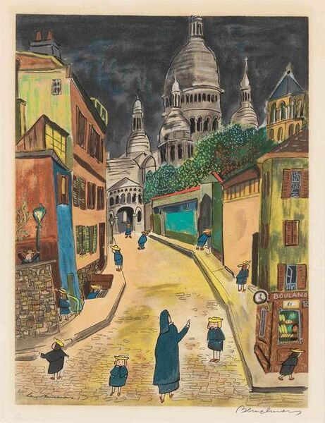 Ludwig Bemelmans, 'THEY WENT LOOKING HIGH AND LOW'