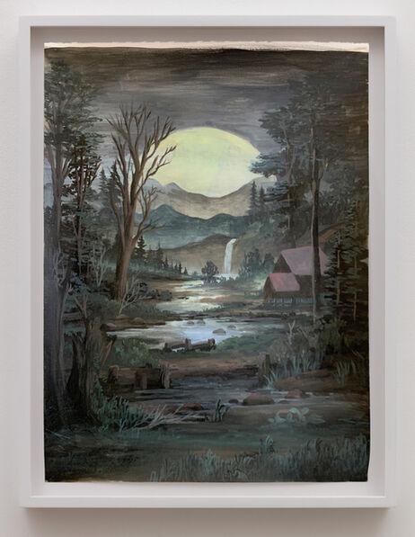 Neil Raitt, 'Moonlight Cabin', 2020