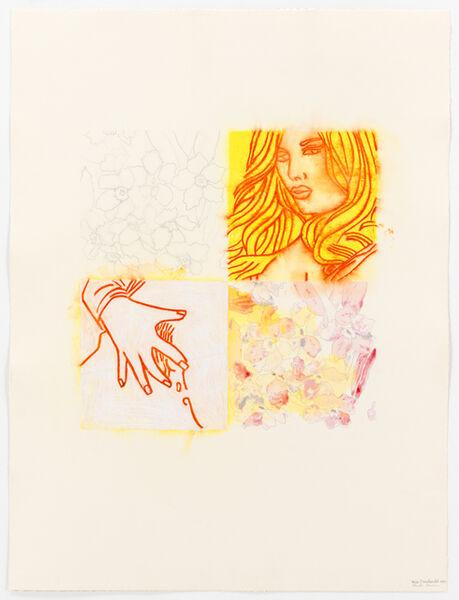 Ghada Amer & Reza Farkhondeh, 'Un Quart B', 2010