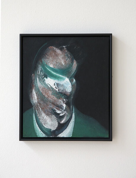 Francis Bacon, 'Study for Head of Lucian Freud (Q3)'
