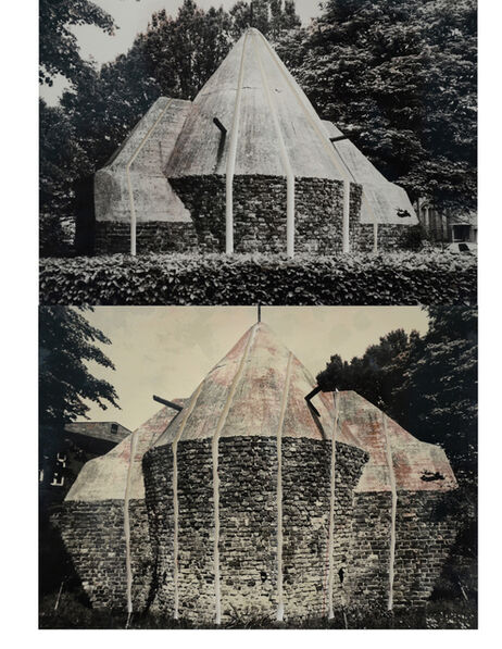Gordon Matta-Clark, 'Sliced Brick Building', 1977