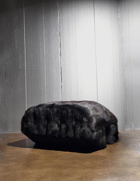 Rick Owens, 'Single Prong in Black Fur', 2018