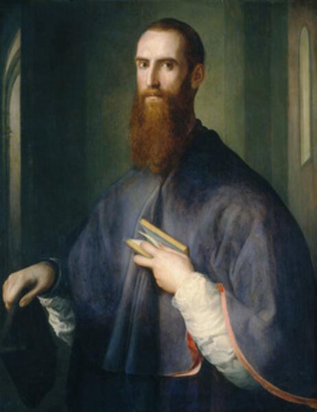 Jacopo da Pontormo, 'Monsignor della Casa', probably 1541/1544
