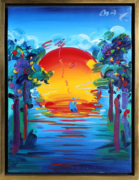 Peter Max, 'Better World', 1993