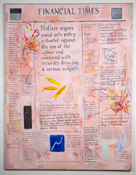 Conrad Atkinson, 'Financial Times: Matisse Edition', 1985