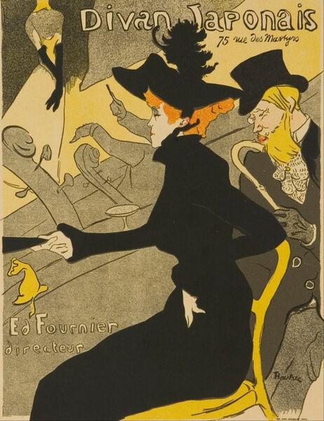 Henri de Toulouse-Lautrec, 'Le Divan Japonais', 1892
