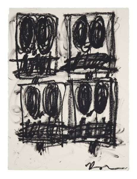 Rashid Johnson, 'Untitled Anxious Drawing', 2017