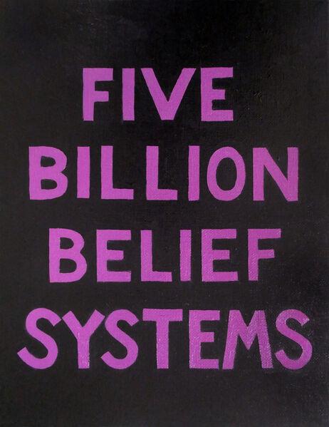 Suzanne Treister, 'The Escapist BHST/Five Billion Belief Systems ', 2019