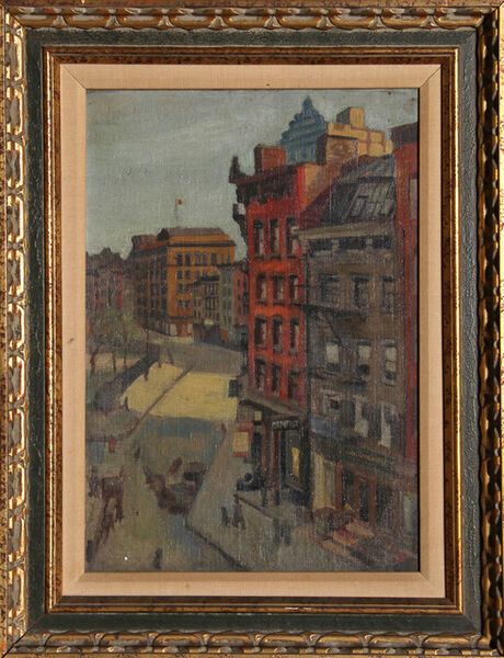 Raphael Soyer, 'City Street', ca. 1930