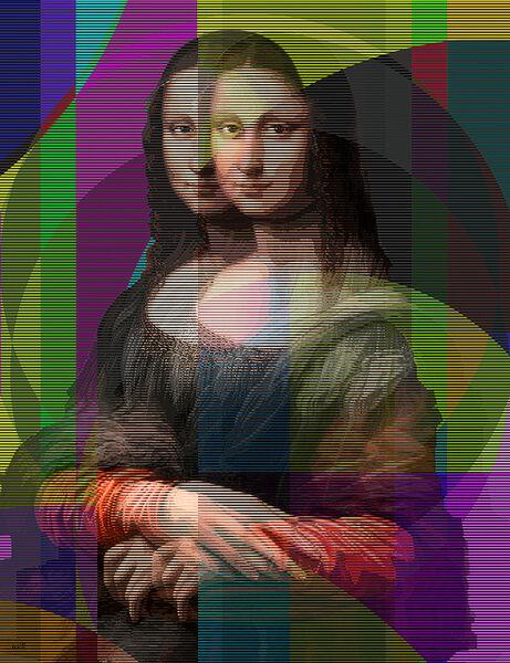 Pınar DU PRE, 'Mona Lisa II', 2019