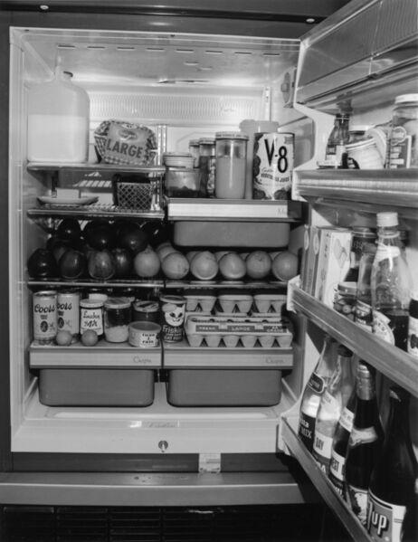 Bill Owens, 'untitled (open fridge)', 1972