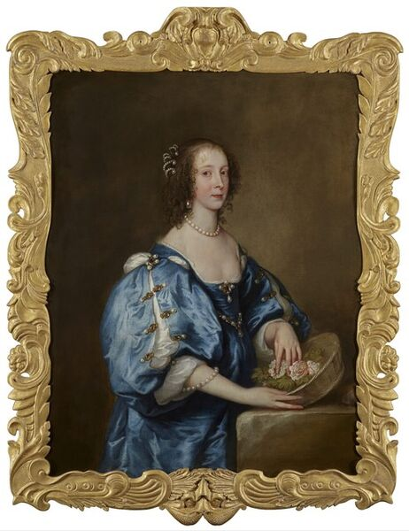 Anthony van Dyck, 'Mary Barber, later Lady Jermyn (d. 1679) [?]', ca. 1637