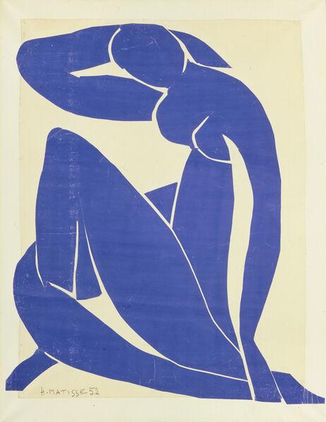 Henri Matisse, 'Blue Nude II', 1952