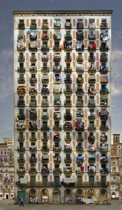 Jean-François Rauzier, 'Babel 11', 2008, Photography, Hyperphotography on dibond, Villa del Arte Galleries