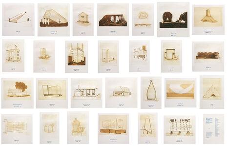 Thomas Schütte, 'Architektur Modelle', 1980-2006