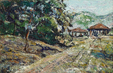 Ernest Lawson, 'Sketch for Post Office Mural in Short Hills, New Jersey', 1939