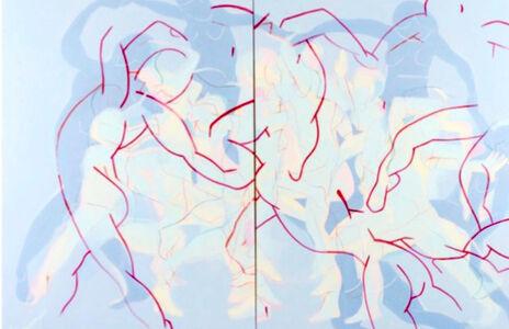 Anibal Vallejo, 'Dancing Red', 2020