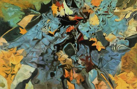 Ralph Wickiser, 'The Blue Rock', 1984