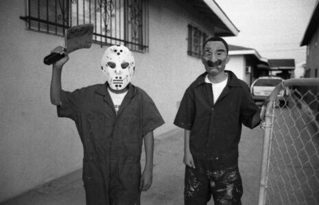 Gregory Bojorquez, 'Masked Boys – East Los Angeles', 1999