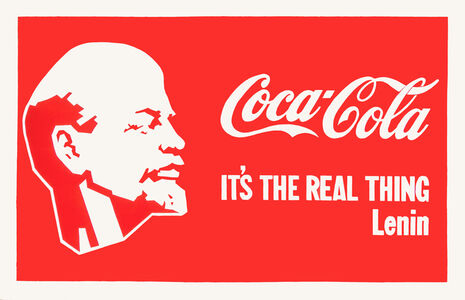 Alexander Kosolapov, 'Lenin Coca-Cola', 1987