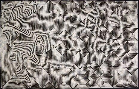 Ronnie Tjampitjinpa, 'Tingari Cycle and Rain', 2015