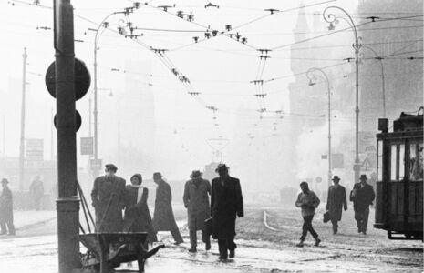 Ed van der Elsken, 'Stationplein, Amsterdam', ca. 1956