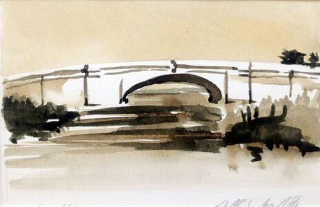 Peter Schroth, 'White Bridge', 2000