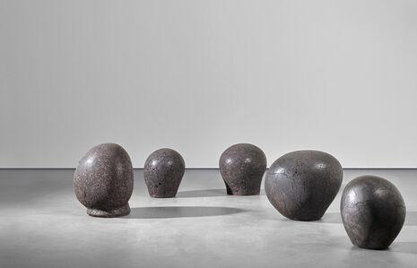 Claudi Casanovas, 'Lluna Nova (Juno, La Daurada, Mercè, Nigra sum, Nuria), from the 'Lunar Cycle' series', 2013