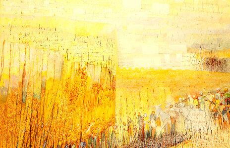 Irving Petlin, 'Ensor a Jerusalem', 1989