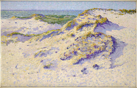 Anna Boch, 'Dunes in the sun', ca. 1903