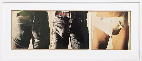 "Andy Warhol, 'Vinyl record ""Sticky Fingers"" - The Rolling Stones', 1971"